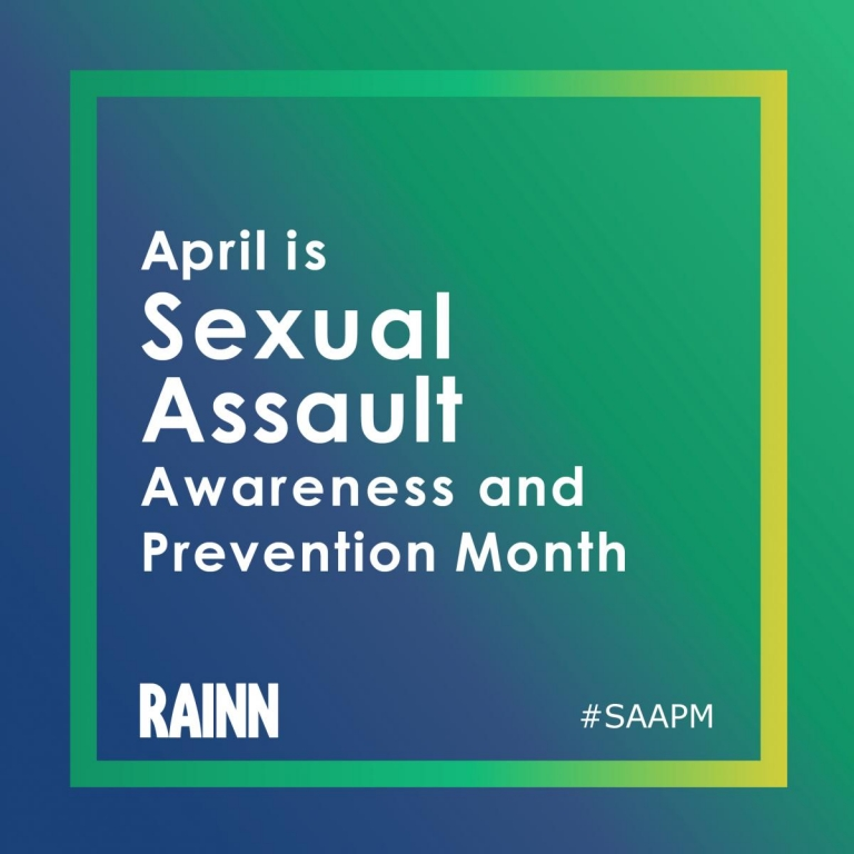 April is Sexual Assault Awareness and Prevention Month