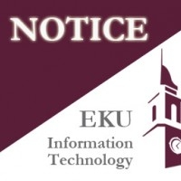 Information Technology @ EKU!